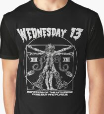 Wednesday 13 - Monsters Of The Universe Graphic T-Shirt