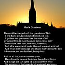 """""""God's Grandeur"""" by Gerard Manley Hopkins, especially good as a card. by Philip Mitchell"""