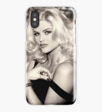 anna nicole smith guess ad iPhone Case