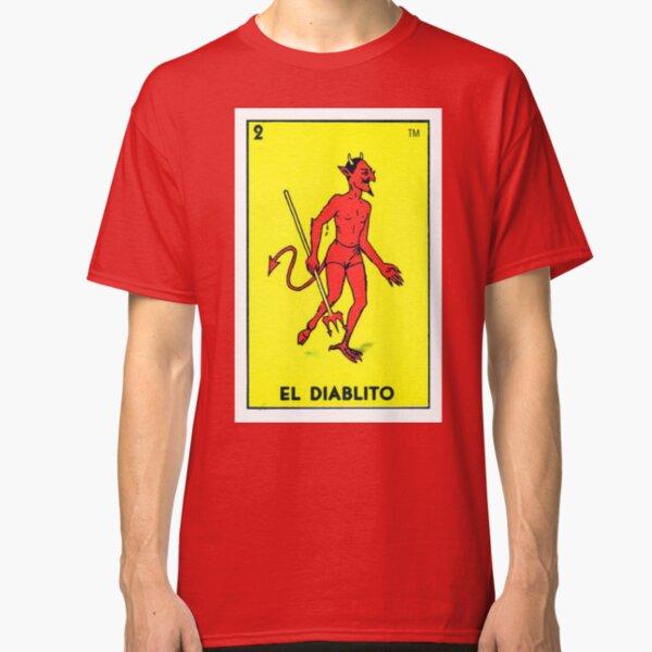 EL Diablito DEVIL Messico Messicana Loteria LOTTERIA numero 2 Chicano T-shirt