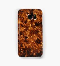 polished tortoise shell art deco phone cover Samsung Galaxy Case/Skin