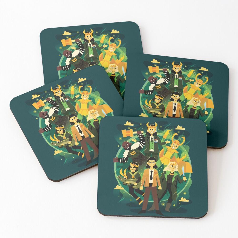 Variants Coasters (Set of 4)