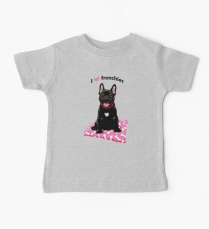 I heart frenchies Kids Clothes