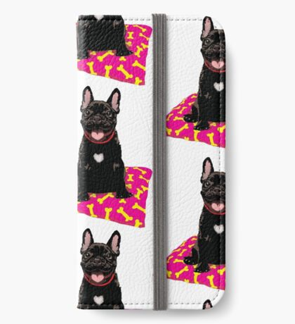 I heart frenchies iPhone Wallet