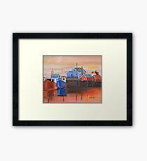 Peggy's Sunset Framed Print