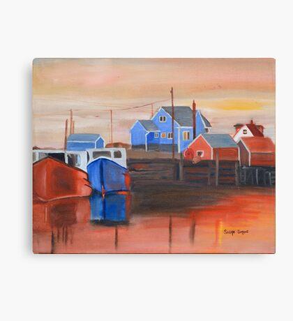Peggy's Sunset Canvas Print