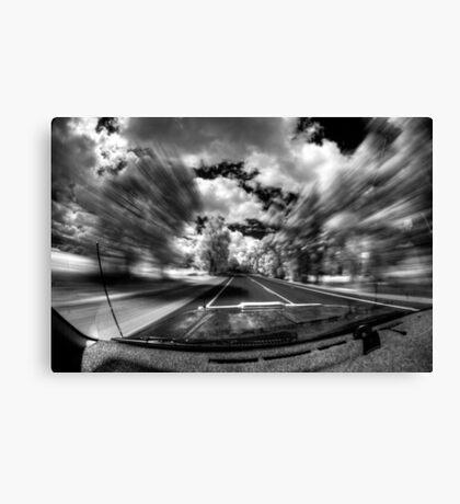 Engage warp drive Canvas Print