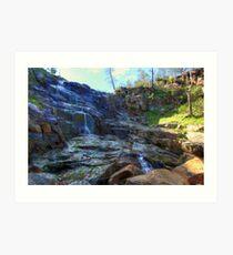 Pine Gully Falls Art Print