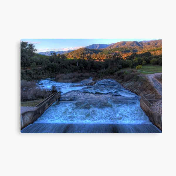 Lake Buffalo Spillway Canvas Print