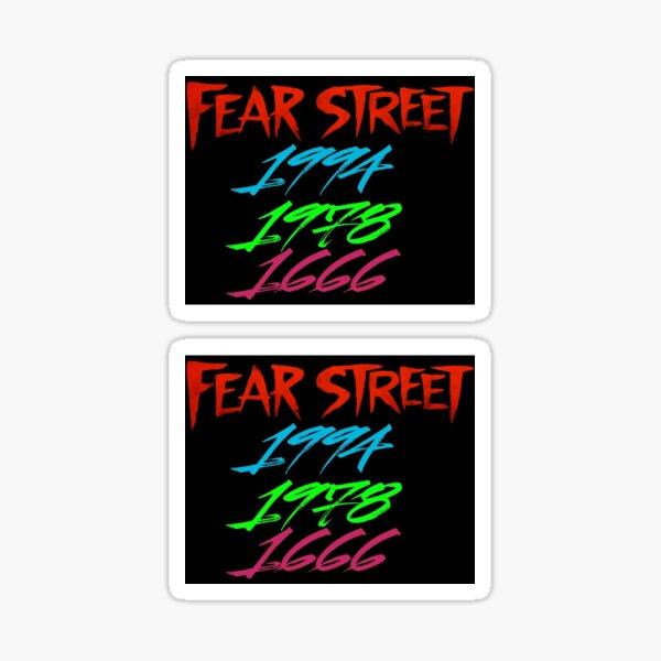 Fear Street Netflix Sticker