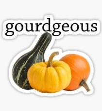 gourdgeous 2 Sticker