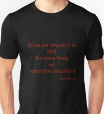 Great Art, Great Film - Gene Wilder T-Shirt
