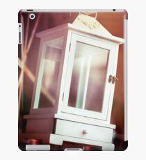 Old-fashioned classic white lantern. iPad Case/Skin