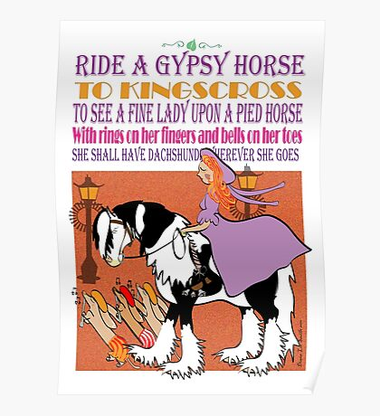 Ride a Gypsy Horse Poster