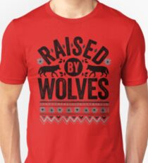 Raised By Wolves {Black + White} T-Shirt