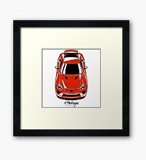 LFA (red) Framed Print
