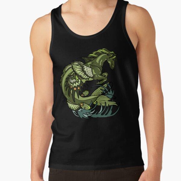 selkie, kelpie. hippocampus, sea horse Tank Top