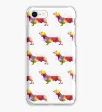 Watercolour Dachshund! iPhone Case/Skin