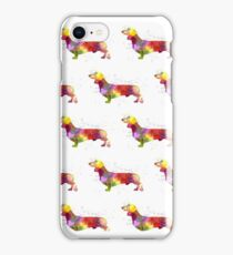 Watercolour Dachshund! iPhone Case/Skin