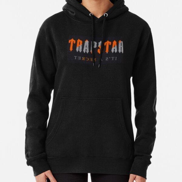 TRAPSTAR Orange Stripes Pullover Hoodie