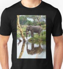 African Elephant, Serengeti National Park, Tanzania.  T-Shirt