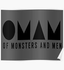 OF MONSTERS AND MEN LOGO Poster