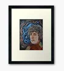 Fourth Doctor (Tom Baker) Framed Print