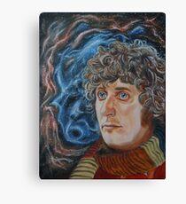 Fourth Doctor (Tom Baker) Canvas Print