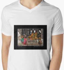 Magic Basket Poster Mens V-Neck T-Shirt