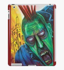 Punk Rock Zombie iPad Case/Skin