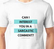 Friends: Sarcastic Comment Unisex T-Shirt