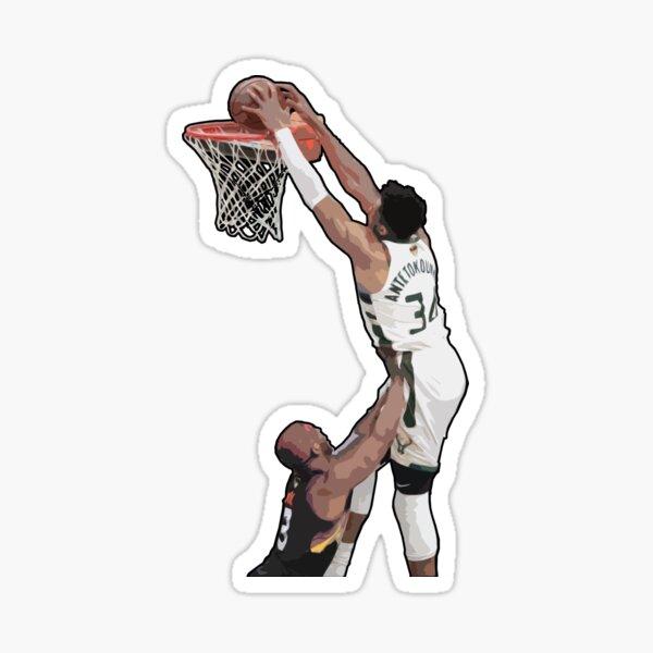 Giannis game-winning dunk over chris paul Sticker