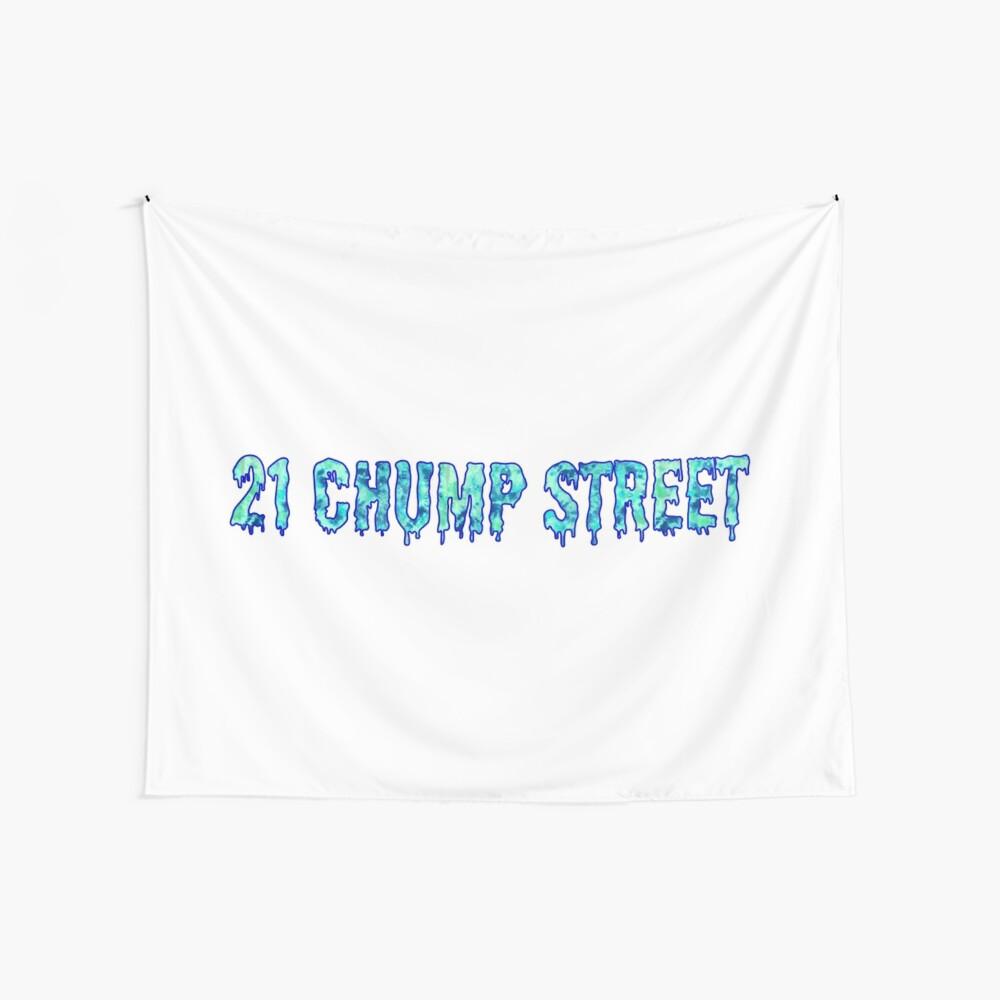 21 calle de Chump Tela decorativa