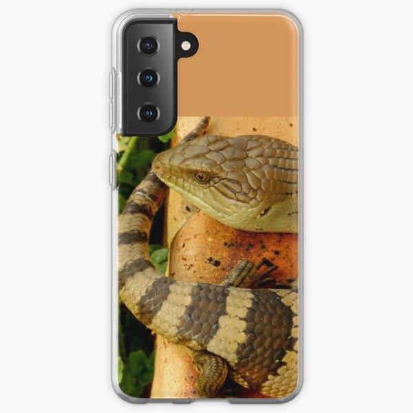 Australian Blue Tongue Lizard Samsung Galaxy Soft Case