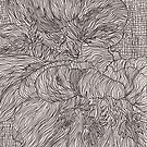 Two Indian Cress by Laurence Mergi Rapoport
