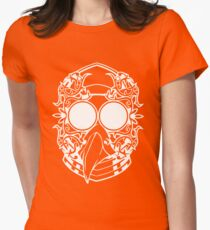 Weird Bird Mask Womens Fitted T-Shirt