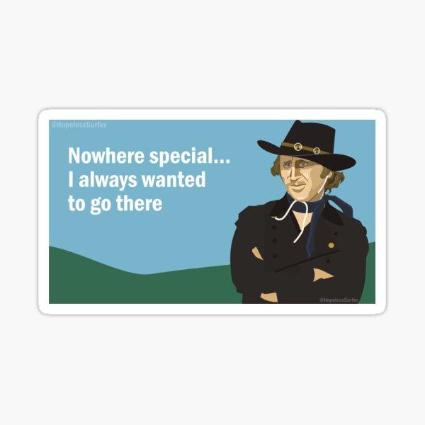 Gene Wilder  Sticker