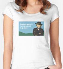 Gene Wilder  Women's Fitted Scoop T-Shirt