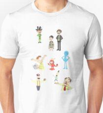 Rick and Morty Random Characters T-Shirt