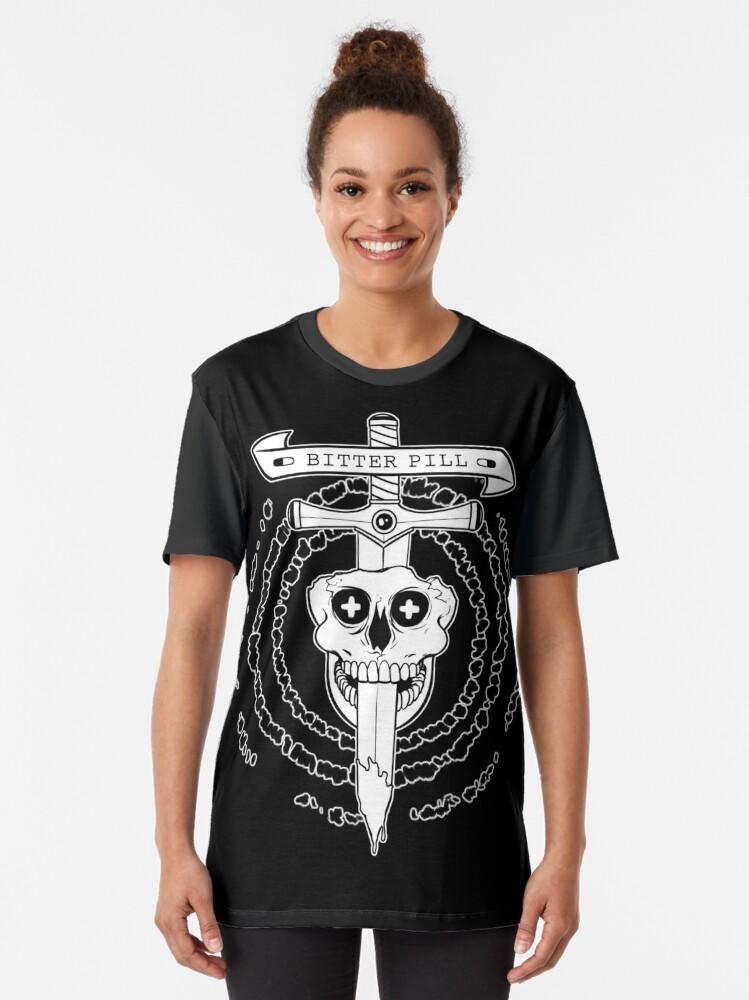 Alternate view of Bitter Pill Graphic T-Shirt