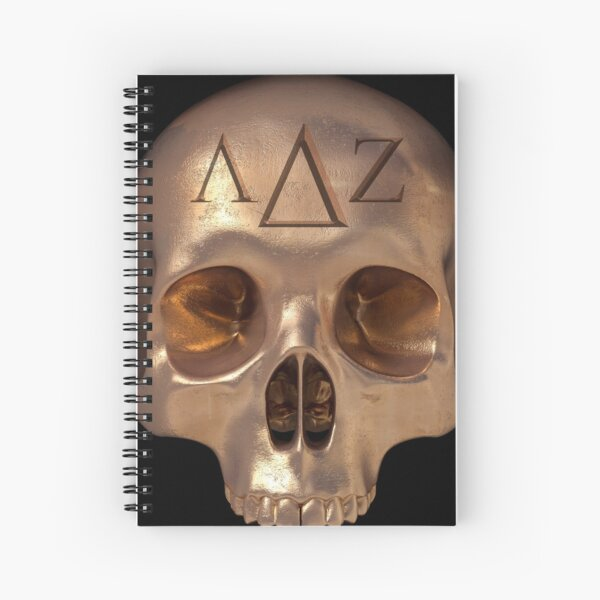 Lords of FU - LDZ Skull Spiral Notebook