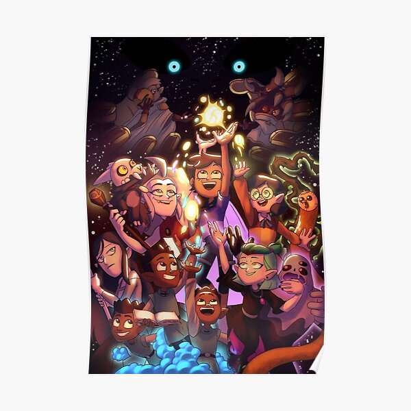 The Owl House Season 2 Poster  Poster