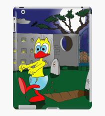 "Rick the chick ""ZOMBIE"" iPad Case/Skin"