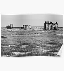 Desolate Dungeness Poster