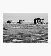 Desolate Dungeness Photographic Print