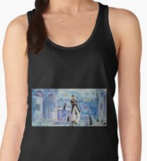 Corto Maltese with cats  Women's Tank Top