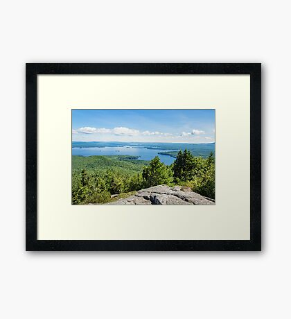 Idyllic Lake Winnipesaukee Framed Print
