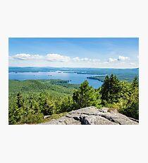 Idyllic Lake Winnipesaukee Photographic Print