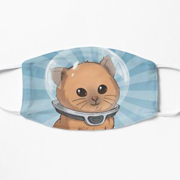keep calm kitty, keep calm, subnautica, calm, hemmm, keep calm kitty subnautica Flat Mask