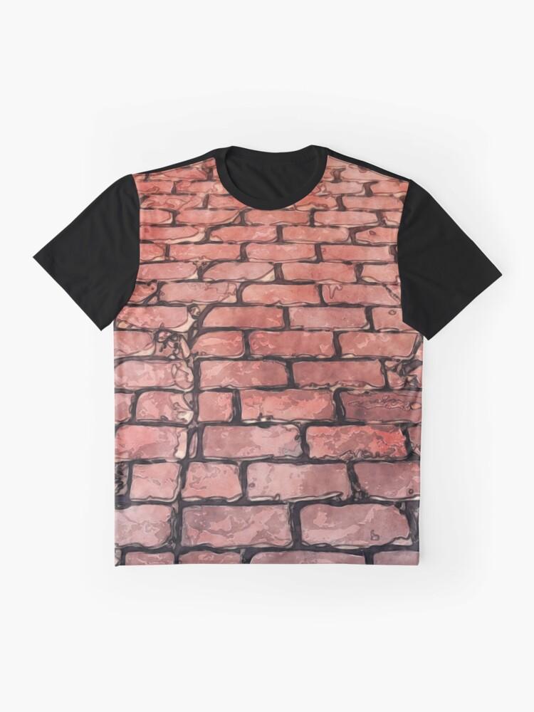 Alternate view of Vintage Brick Street Graphic T-Shirt